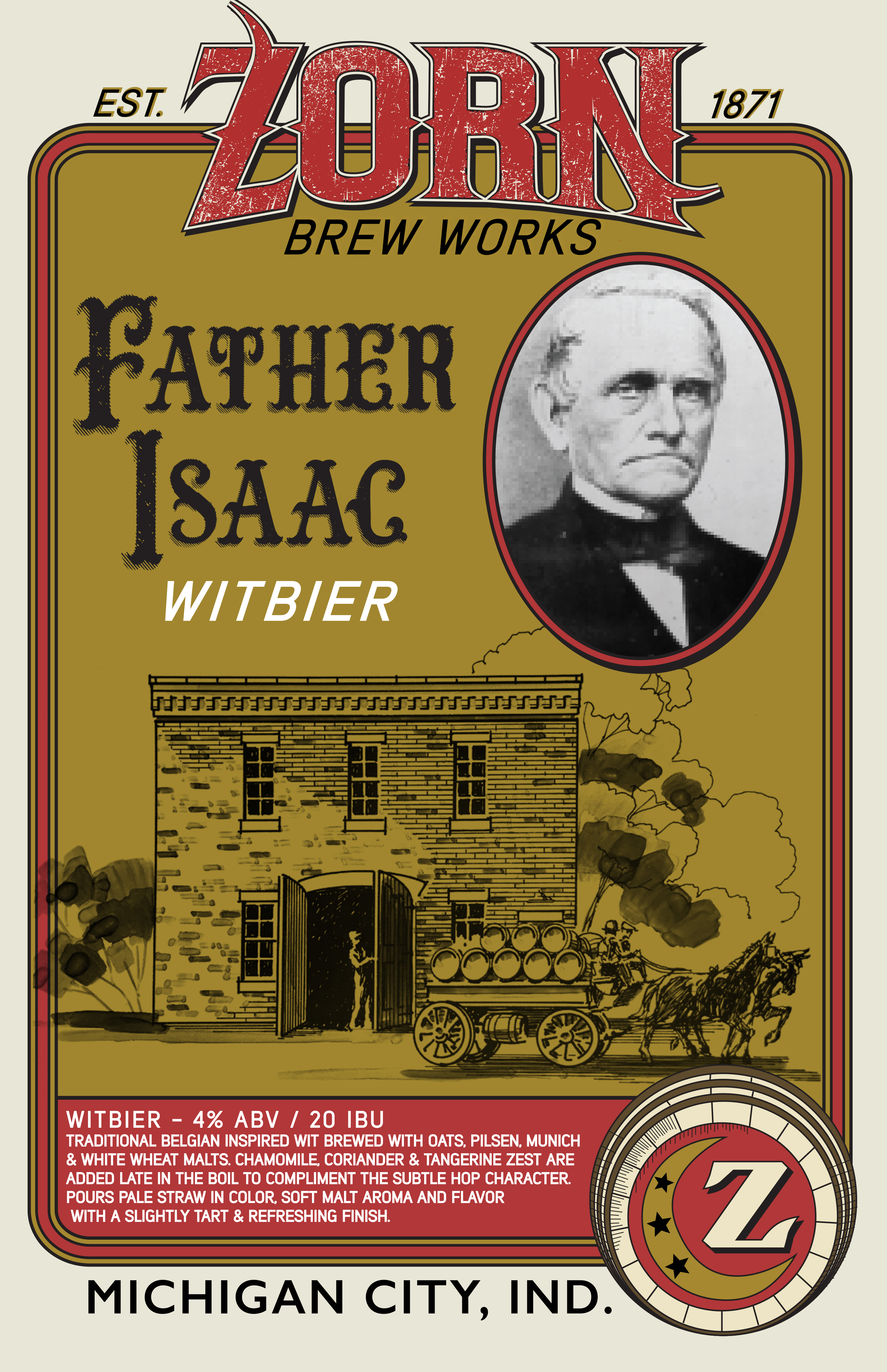 Zorn Father Issac Poster